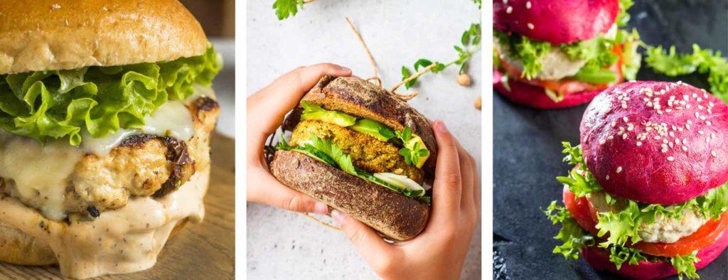 vegane Burger - Kochkurs Kurkuma Kochschule